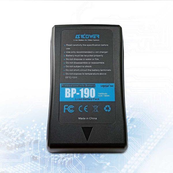 V-mount-battery 190Wh